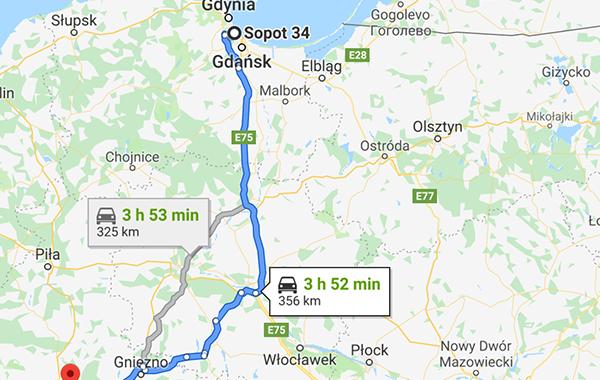 bilsemester i Polen och Tyskland