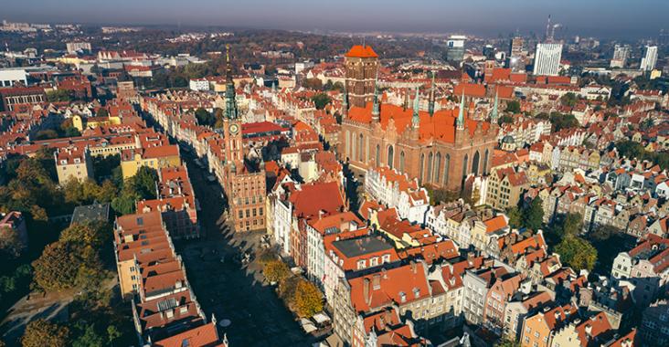 Gdansk utsikt